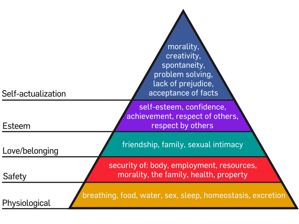 Maslows Hierarchy of Needs Among the Luddites